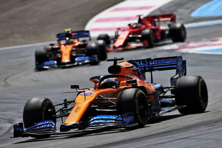 F1 | 「キャリアのなかで最も楽な6位入賞だった」サインツJr.、マクラーレンF1好調の一因にルノーPU改善を挙げる