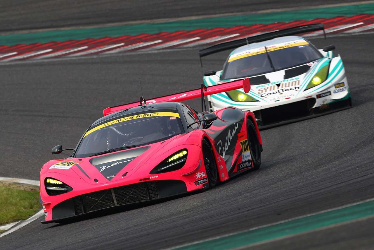 ベース車のポテンシャルが活かされているマクラーレン720S GT3は「乗っていてすごく気持ちいい」と荒
