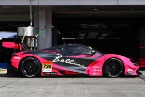 スーパーGT | McLaren 720Sのサイドビュー