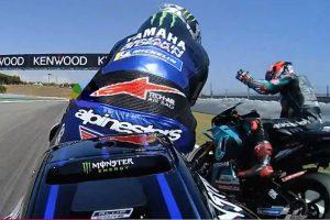 MotoGP | 予選でマーベリック・ビニャーレスの妨害に抗議するファビオ・クアルタラロ
