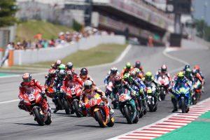MotoGP | カタルーニャGPの決勝スタートシーン