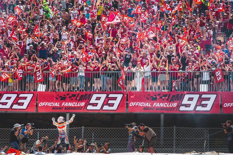 MotoGP   MotoGP:母国だからこそ得られる特別な力。カタルーニャGPでは全クラスでスペイン国旗が上がる