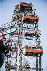 【ギャラリー】ウィーンの『大観覧車』に乗せられたRB15