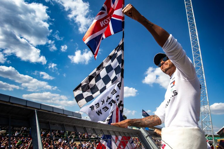 F1   ハミルトン、シルバーストンでのF1イギリス開催継続を望む。「F1の歴史や文化を失いたくない」