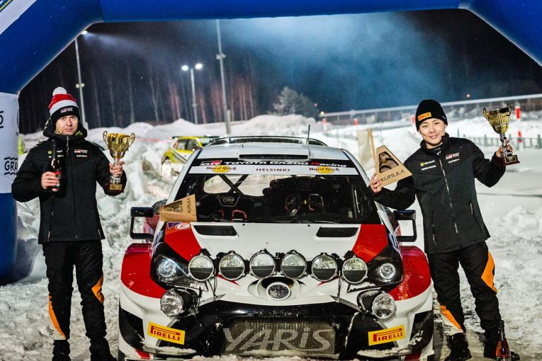 ラリー/WRC | 日本人WRCドライバー誕生へ前進! トヨタ育成の勝田貴元、ヤリスWRCでの最高峰クラス参戦が決定