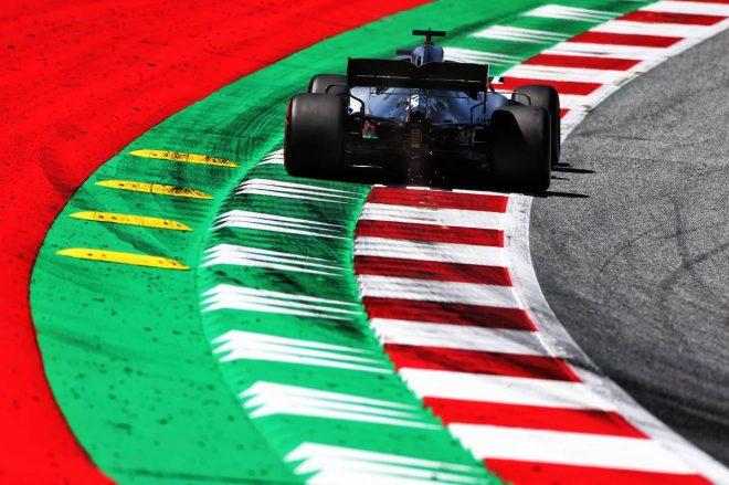 2019年F1第9戦オーストリアGP FP1でトップタイムをマークしたルイス・ハミルトン(メルセデス)