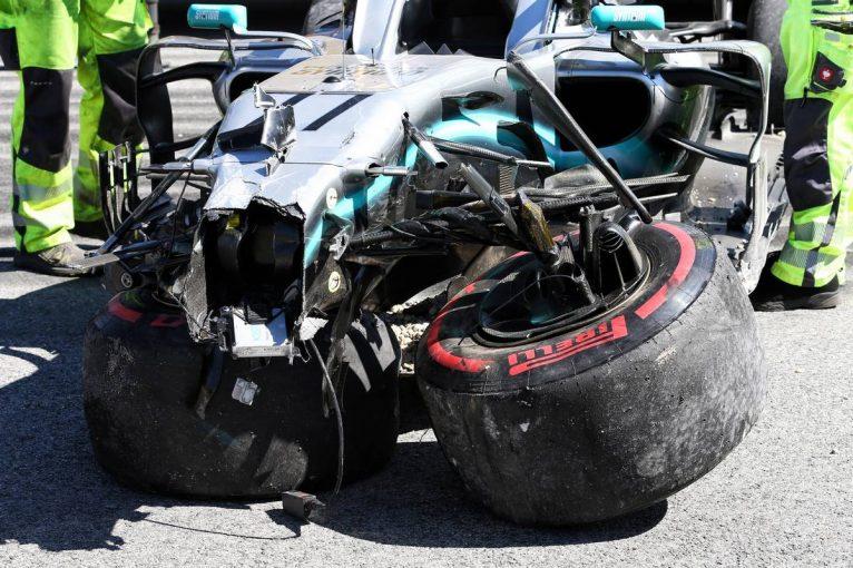 F1 | F1 Topic:ボッタスのPUトラブルと大クラッシュ。メルセデスの圧倒的な速さは健在も9連勝に暗雲