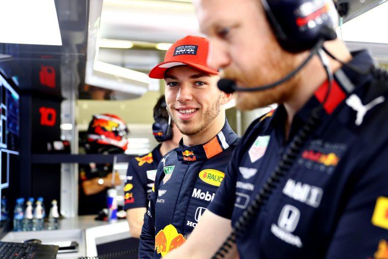 F1 | ガスリーFP2で3番手「前戦とは比較にならないほど快適。もっとトップに近づきたい」:レッドブル・ホンダ F1オーストリアGP金曜