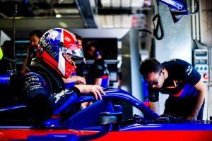 F1 | クビアト「マシンの感触がよくない。予選に向けて大きく改善する必要がある」:トロロッソ・ホンダ F1オーストリアGP金曜