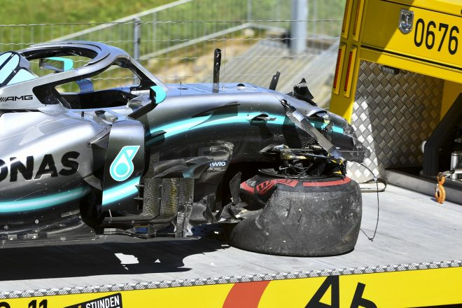 2019年F1第9戦オーストリアGP バルテリ・ボッタス(メルセデス)