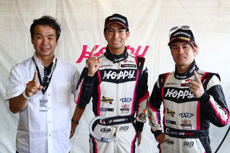 スーパーGT | スーパーGT第4戦タイ:GT300はHOPPY 86松井孝允がレコード更新で2戦連続のポール獲得