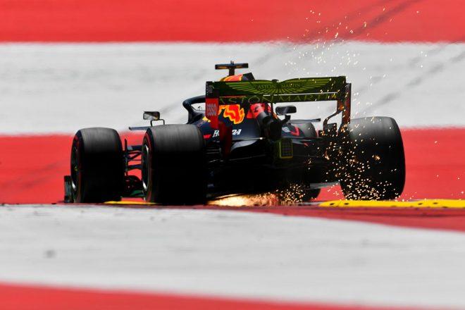 2019年F1第9戦オーストリアGP マックス・フェルスタッペン(レッドブル・ホンダ)は予選3番手
