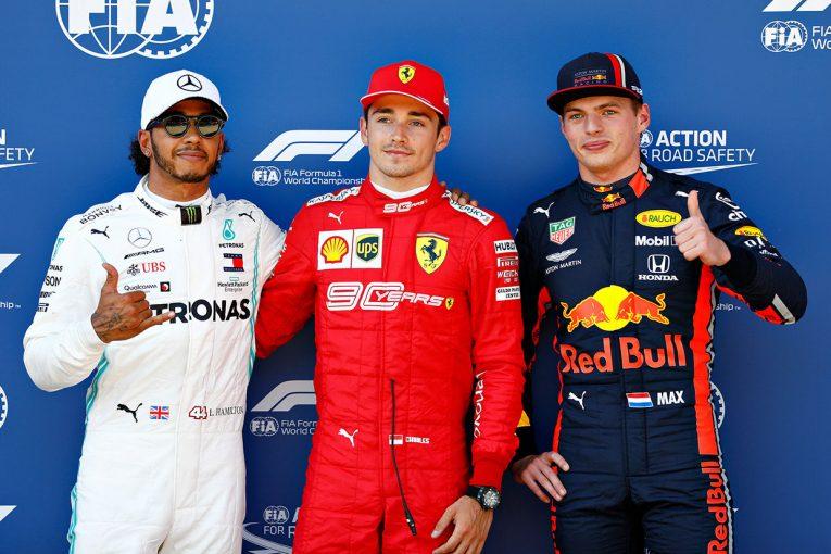 F1 | 三つ巴の予選を制したルクレールがポールを奪取。フェルスタッペンはメルセデスの一角を崩し3番手に/F1第9戦オーストリアGP