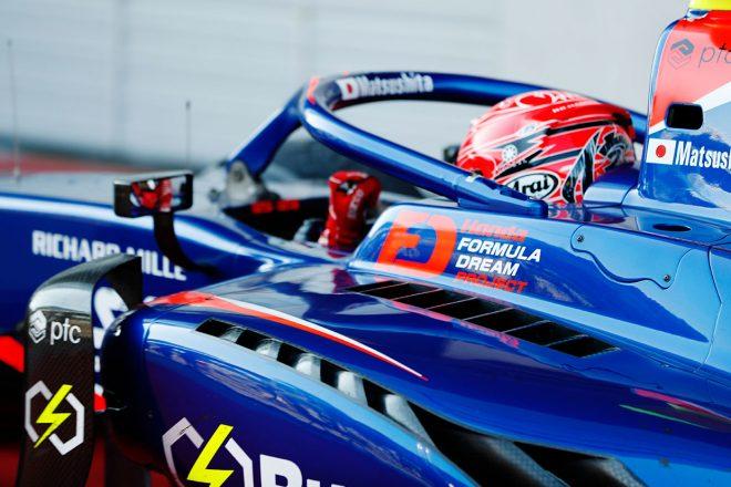 FIA-F2第6戦オーストリア レース1 松下信治がF2復帰後初優勝