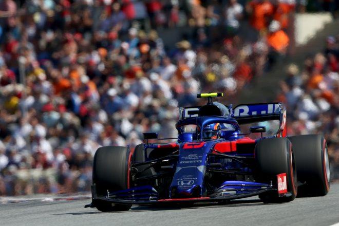 2019年F1第9戦オーストリアGP アレクサンダー・アルボン(トロロッソ・ホンダ)