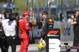 2019年F1第9戦オーストリアGP マックス・フェルスタッペン(レッドブル・ホンダ)がポールのシャルル・ルクレール(フェラーリ)に続くフロントロウからのスタートに