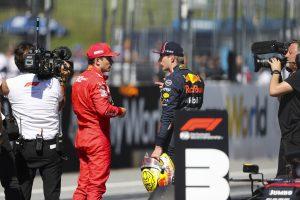 F1 | 2019年F1第9戦オーストリアGP マックス・フェルスタッペン(レッドブル・ホンダ)がポールのシャルル・ルクレール(フェラーリ)に続くフロントロウからのスタートに