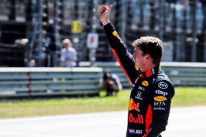F1 | フェルスタッペンが2番グリッド「予想外の好結果で思わず笑顔に。アップデートが機能しパワーも上がった」レッドブル・ホンダ F1オーストリアGP