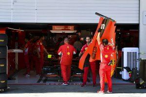 F1 | ベッテル、エンジン関連のトラブルで予選Q3に参加できず「ポール獲得のチャンスを逃がし、本当に残念」フェラーリ F1オーストリアGP