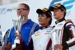 FIA-F2第6戦オーストリアの決勝レース1で優勝した松下信治