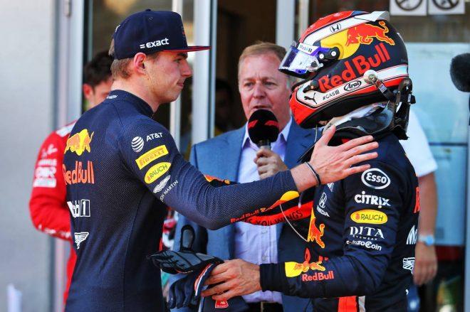 2019年F1第9戦オーストリアGP マックス・フェルスタッペン、ピエール・ガスリー(レッドブル・ホンダ)