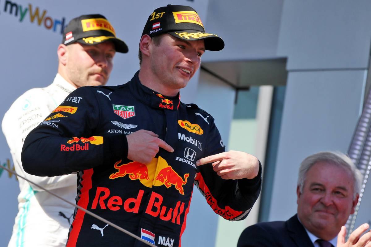 2019年F1第9戦オーストリアGP マックス・フェルスタッペン(レッドブル・ホンダ)が優勝