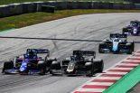 2019年F1第9戦オーストリアGP決勝 アレクサンダー・アルボンとロマン・グロージャンのバトル