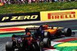2019年F1第9戦オーストリアGP決勝 マックス・フェルスタッペンとランド・ノリスのバトル