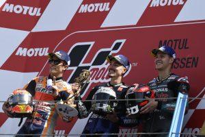 MotoGP | ビニャーレス、10戦ぶりの優勝に「自分の強みを把握していた」/MotoGP第8戦オランダGP 決勝トップ3コメント
