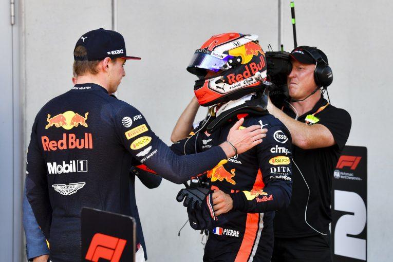 F1 | ガスリー「マックスは最高の仕事をした。彼から学び、吸収する必要がある」レッドブル・ホンダ F1オーストリアGP日曜