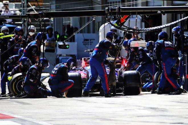 2019年F1第9戦オーストリアGP ダニール・クビアト(トロロッソ・ホンダ)