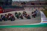 中上、MotoGPオランダGPでロッシと接触し激しく転倒も骨折なし。「何が起こったのかよく覚えていない」