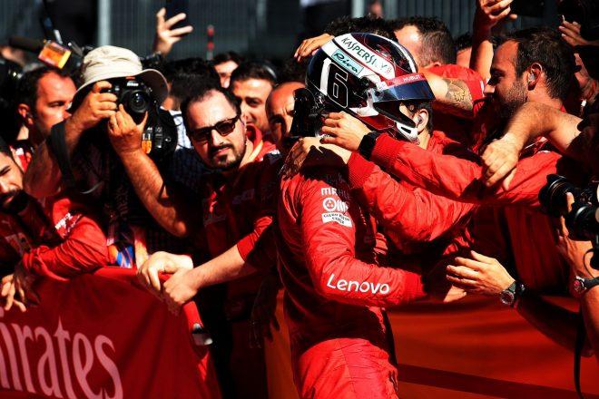 2019年F1第9戦オーストリアGP シャルル・ルクレール(フェラーリ)が2位獲得