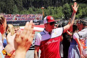 F1 | ライコネン9位「トップチームと戦える速さはなかった」。ジョビナッツィは初入賞:アルファロメオ F1オーストリアGP