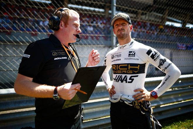 2019年F1第9戦オーストリアGP ロマン・グロージャン(ハース)