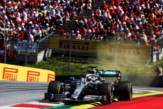 2019年F1第9戦オーストリアGP ルイス・ハミルトン(メルセデス)