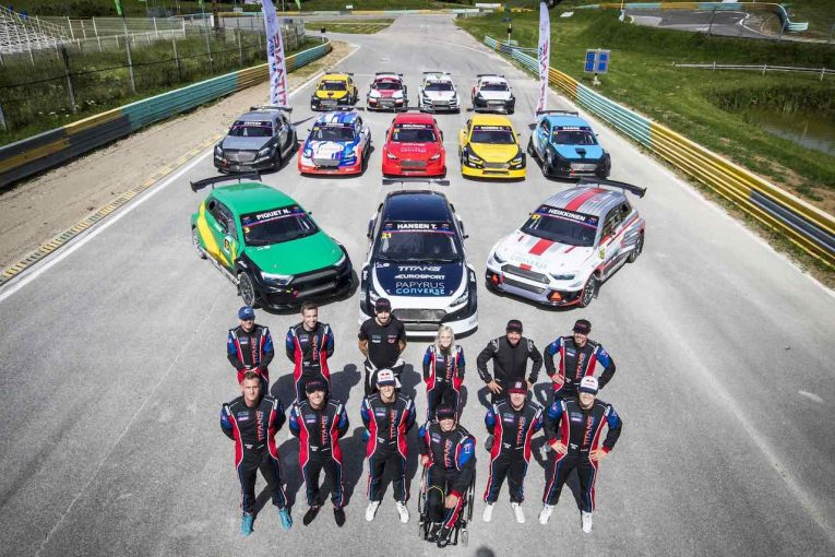 ラリー/WRC | 新設ラリークロスシリーズ『タイタンRX』開幕。元F1、WRC、WorldRXドライバーなどが激突