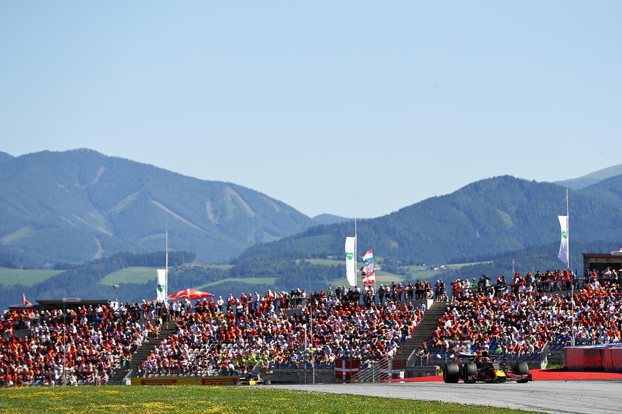 2019年F1第9戦オーストリアGPマックス・フェルスタッペン(レッドブル・ホンダ)