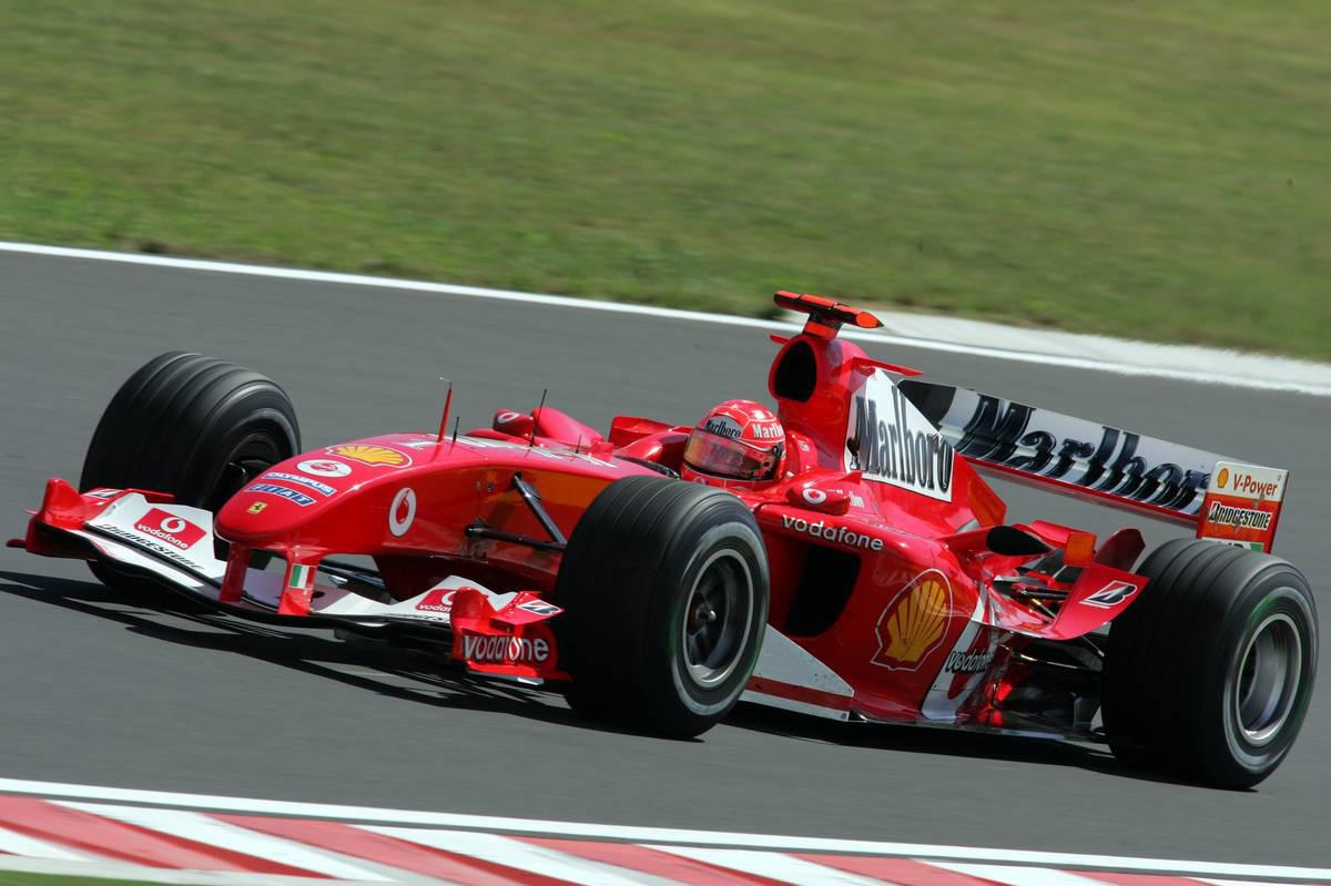 2004年F1第13戦ハンガリーGP ミハエル・シューマッハー