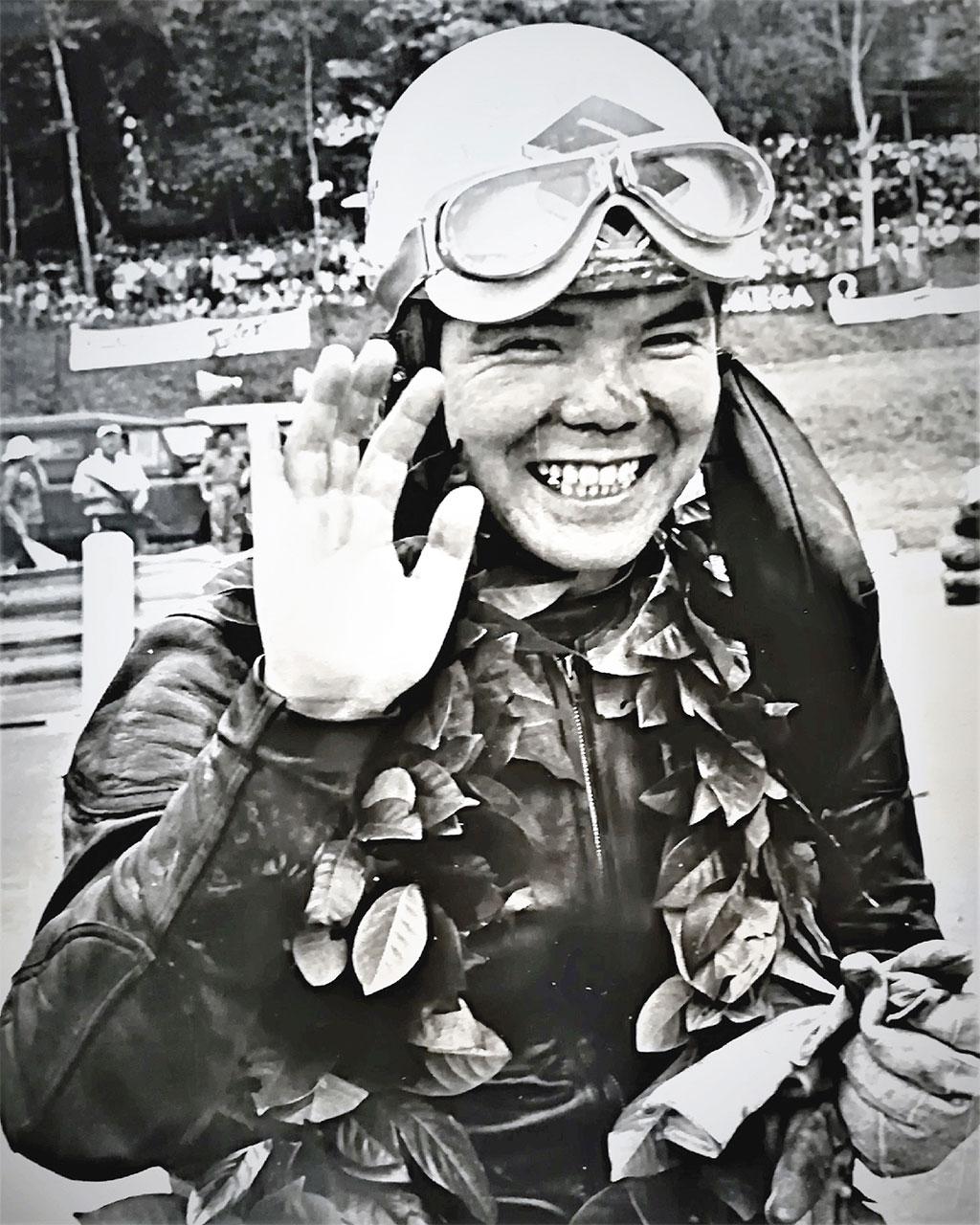 日本人で唯一、マン島TTレースで優勝を挙げた伊藤光夫さん