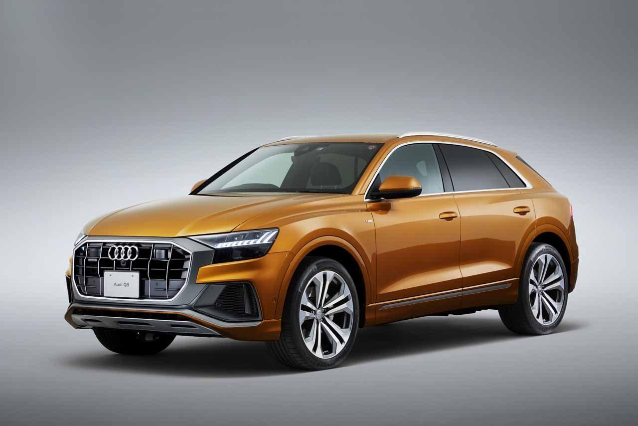 アウディ、4ドアクーペを思わせるデザインと先進技術搭載の新型SUV『Q8』を9月より発売