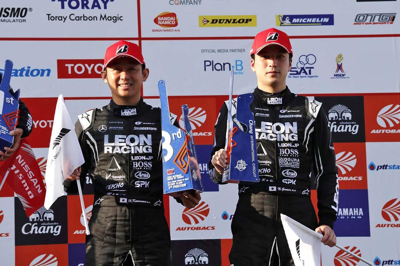 K2 R&D LEON RACING 2019スーパーGT第4戦タイ レースレポート