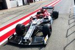 F1 | アルファロメオF1が2020年向けタイヤテスト。エリクソンがC38で走行