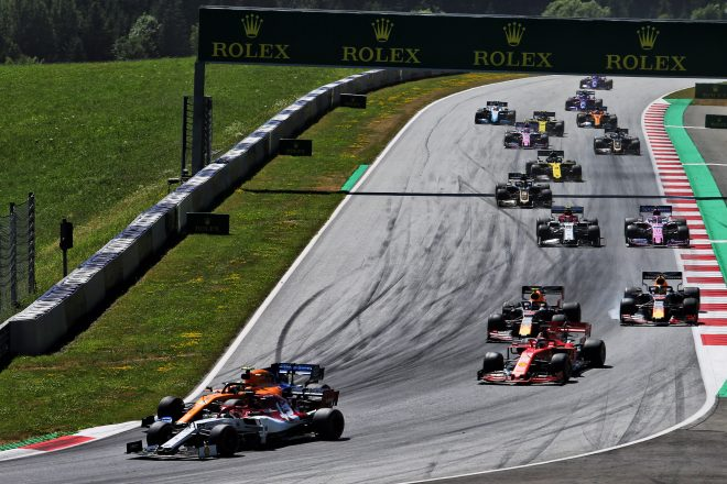 2019年F1第9戦オーストリアGP ランド・ノリス(マクラーレン)