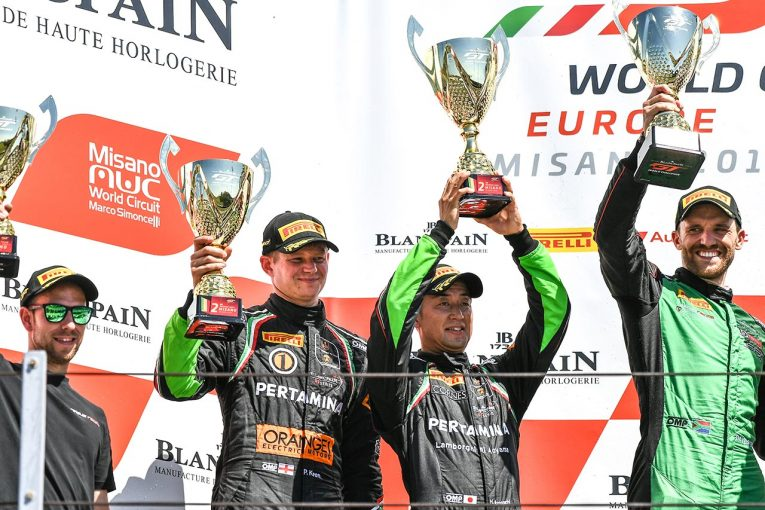 ル・マン/WEC | ブランパンGTヨーロッパで濱口弘が今季2勝。ランキング首位でシリーズ後半戦へ