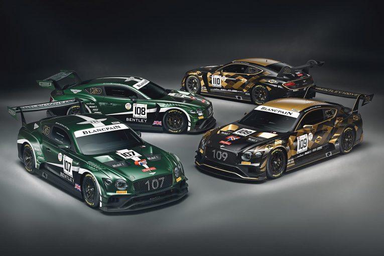 ル・マン/WEC | ベントレー、スパ24時間に2種類の100周年スペシャルカラーのコンチネンタルGT3を投入へ