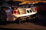 GTE仕様ではサイド出しだったエキゾーストは、ロードカーと同じく後方からに