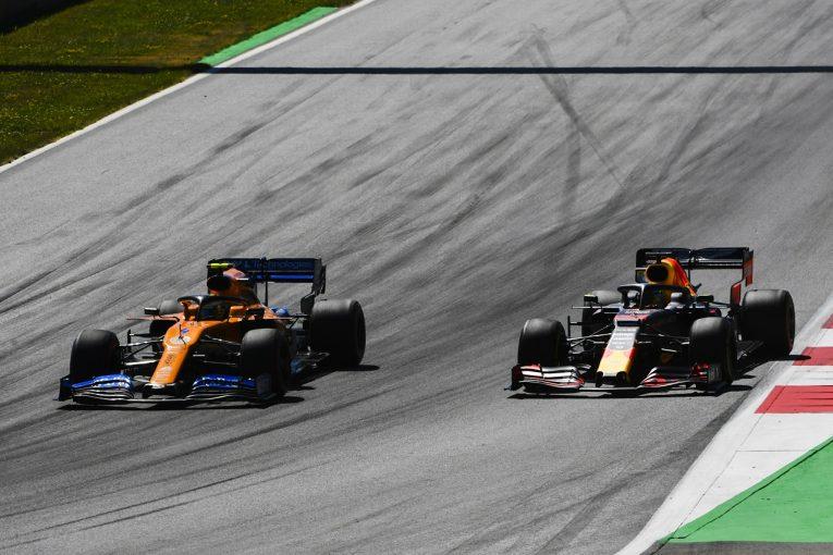 F1 | 好調マクラーレンのノリス、オーストリアでの上位バトルを喜ぶ「トップ3チームと戦えるよう、もっと学習していきたい」