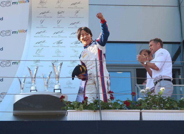 Blog | 【ブログ】ホンダF1に先駆けてFIA-F2の松下もレース1で堂々の勝利/F1オーストリアGP現地情報(2)