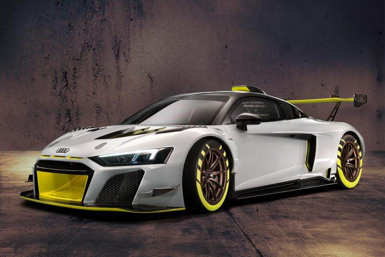 ル・マン/WEC | アウディ、グッドウッドでGT2カテゴリー向けの新カスタマー車両『R8 LMS GT2』をお披露目